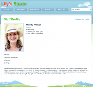 Share your Staff and Educator profiles on the Parent Portal