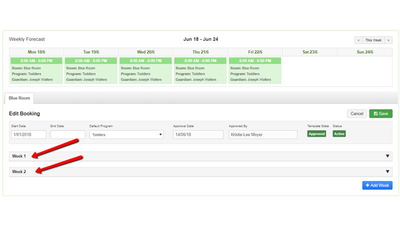 Managing Software Bookings