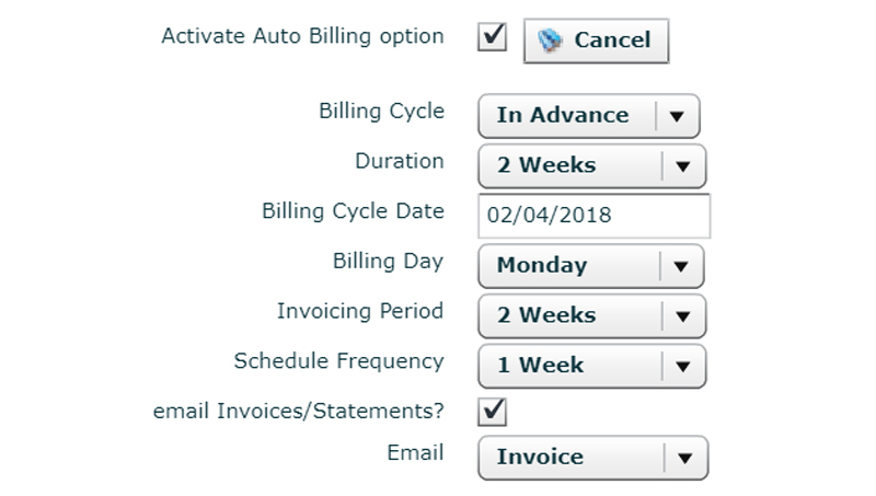 Invoicing Process